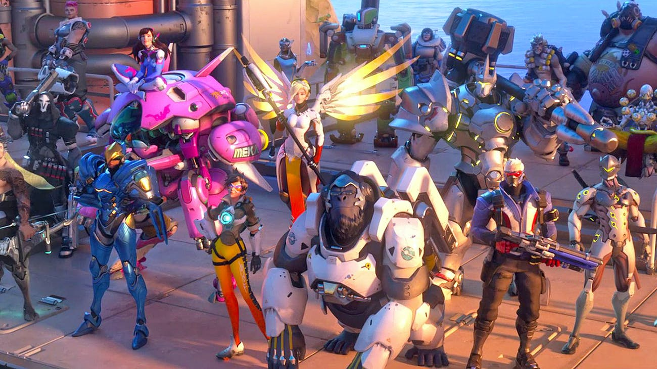 'Overwatch' pits tons of different characters in team-based combat. Can you imagine a roster of Marvel characters doing the same?