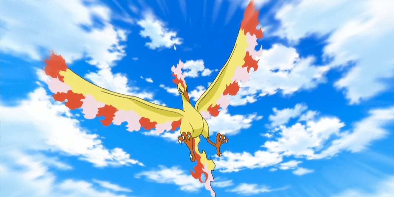 Pokemon Pokemon GO Legendary Bird Moltres shint