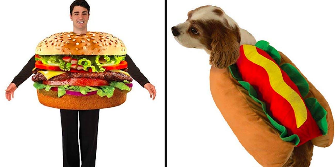 hot dog burger