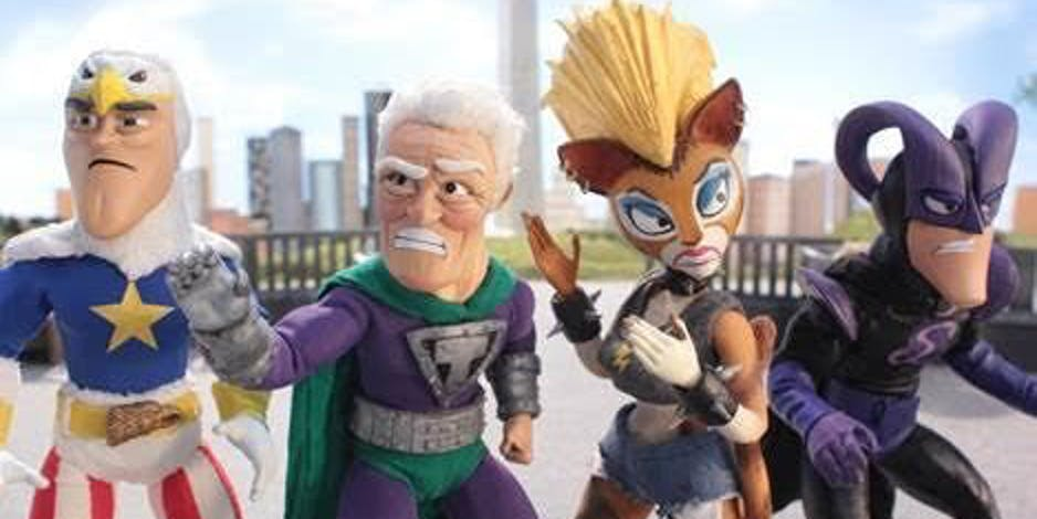 SuperMansion on Adult Swim and Crackle