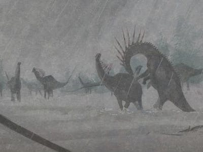 Paleoart Shows Dinosaurs Weren't the Terrible Lizards of Your Fantasies