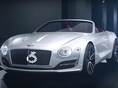 Bentley's New All-Electric Car Is Ridiculously Luxurious