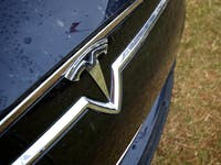 2013 Goodwood Festival Of Speed - Tesla Logo