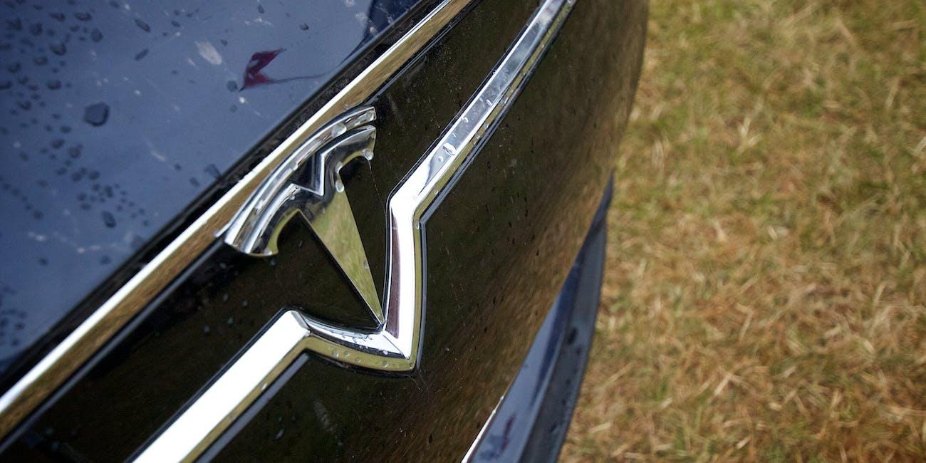 2013 Goodwood Festival Of Speed - Tesla Logo
