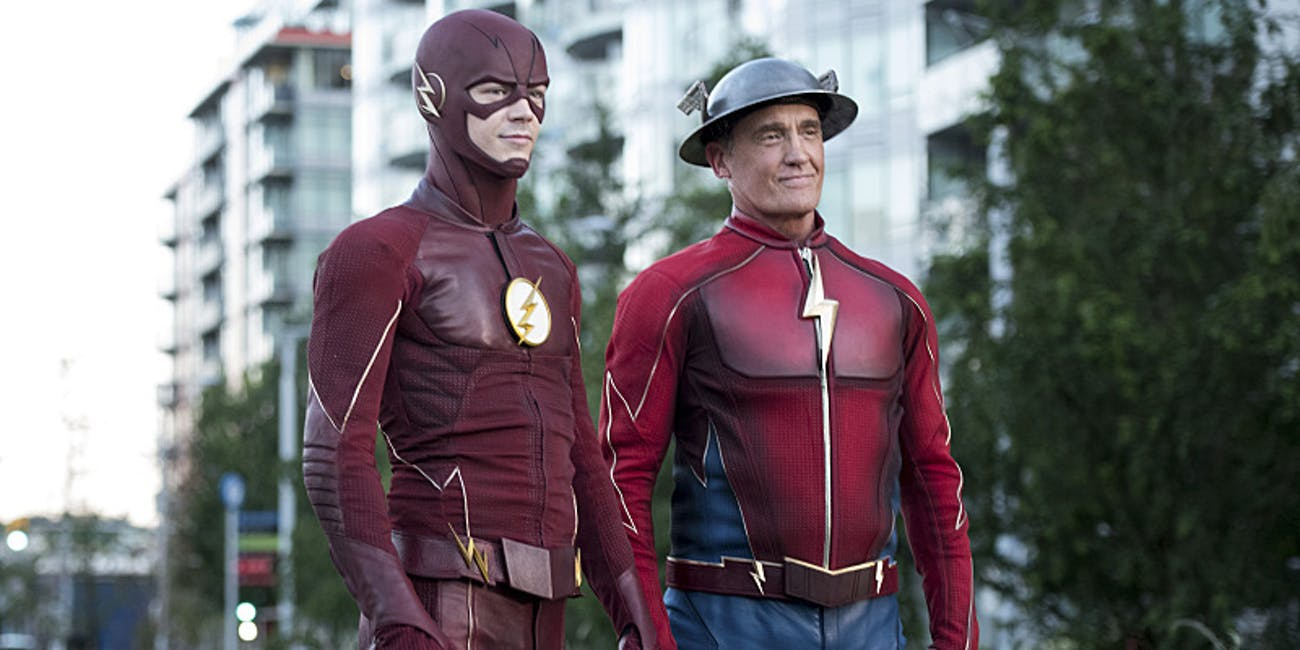 The Flash Season 3 Barry Allen Jay Garrick