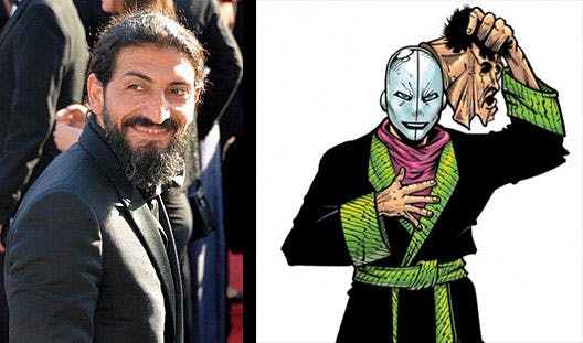 Numan Acar and the Chameleon.
