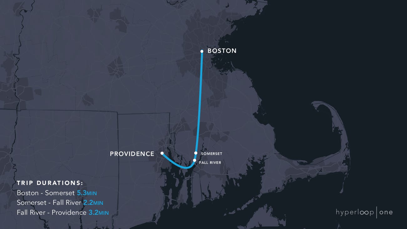 The Massachusetts route.