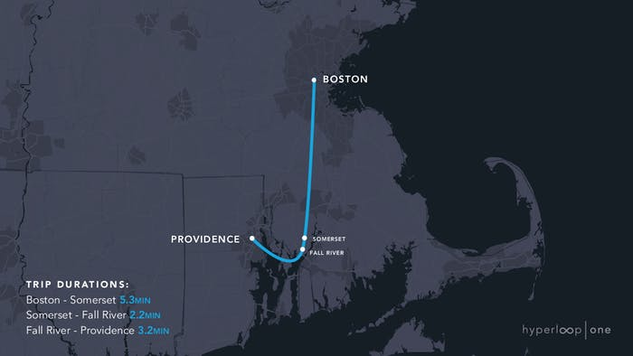 The Massachusetts route.