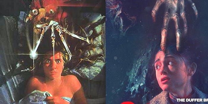 Nancy in Stranger Things nods to 'A Nightmare on Elm Street'