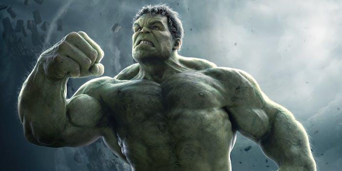 Hulk in 'Avengers: Age of Ultron'
