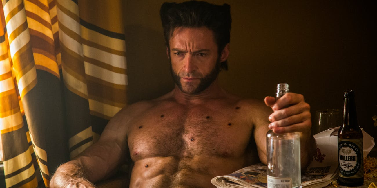Hugh Jackman as Logan in 'X-Men: Days of Future Past'.