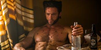 Hugh Jackman as Logan in 'X-Men: Days of Future Past'.