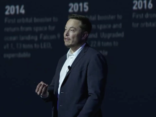 Elon Musk: Sell Your House and Start a New Life on Mars