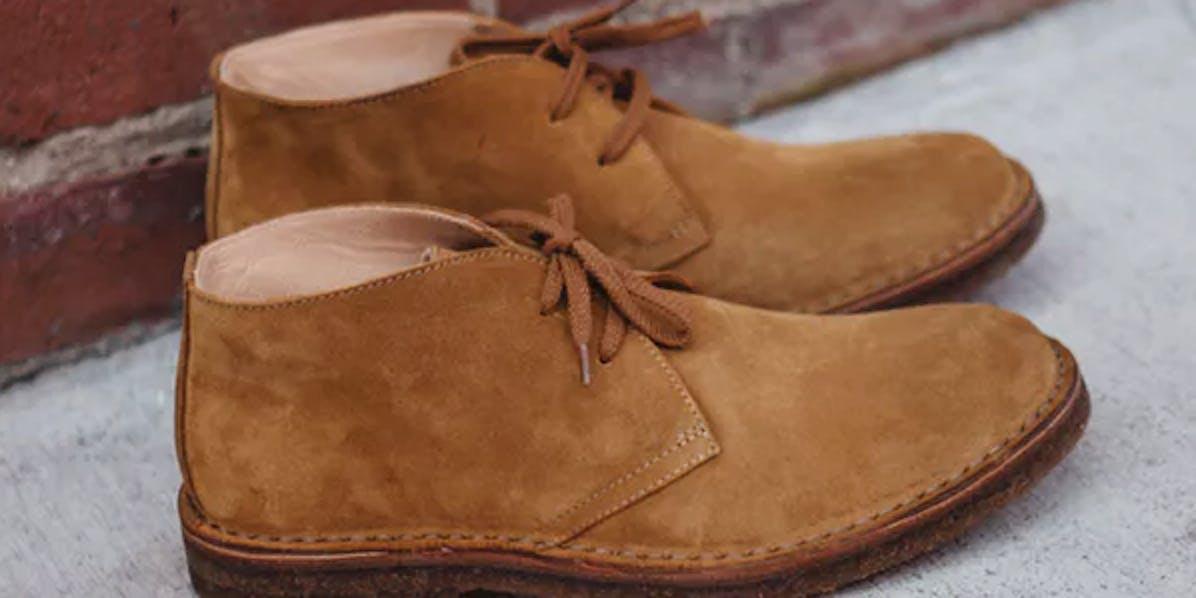 desert boot, chukka boot, eco-friendly boot