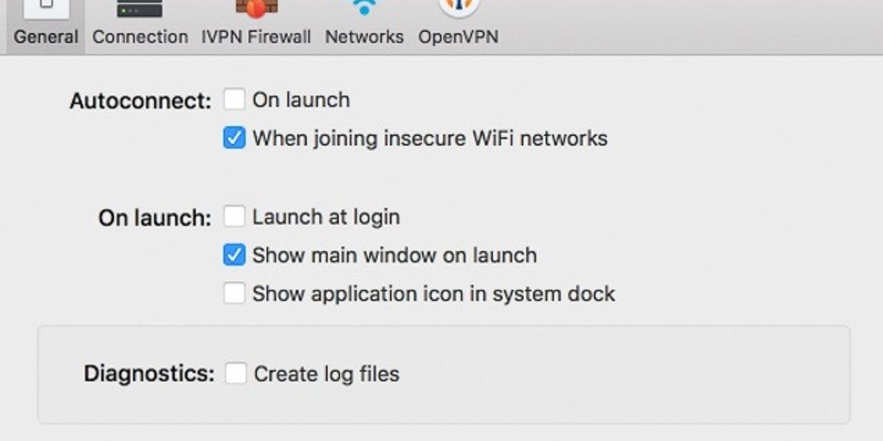 We love that IVPN can automatically connect when you join an unsecure Wi-Fi network.