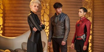 The love triangle that dominates 'Krypton'
