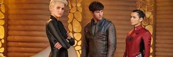 The love triangle that dominates 'Krypton'