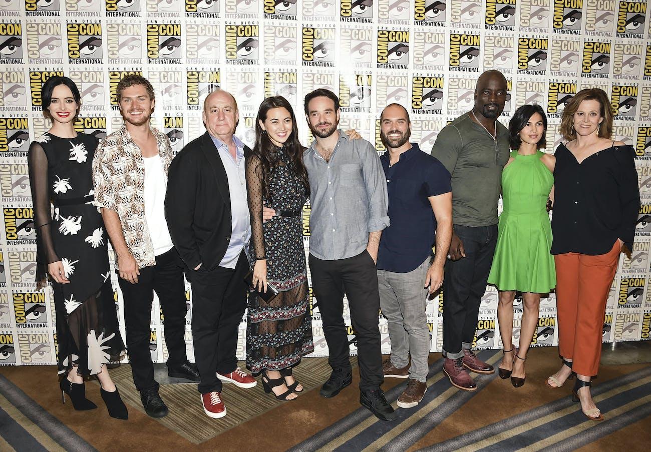 Comic-Con Defenders Marvel