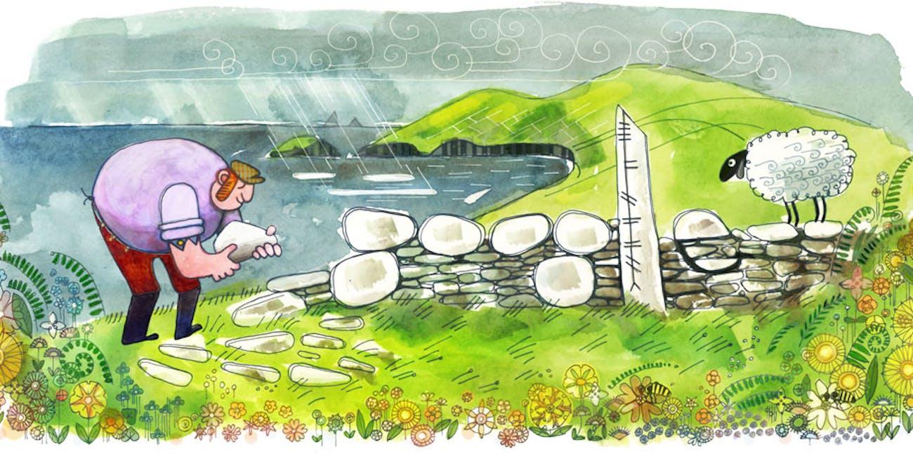 St. Patrick's Day Google Doodle
