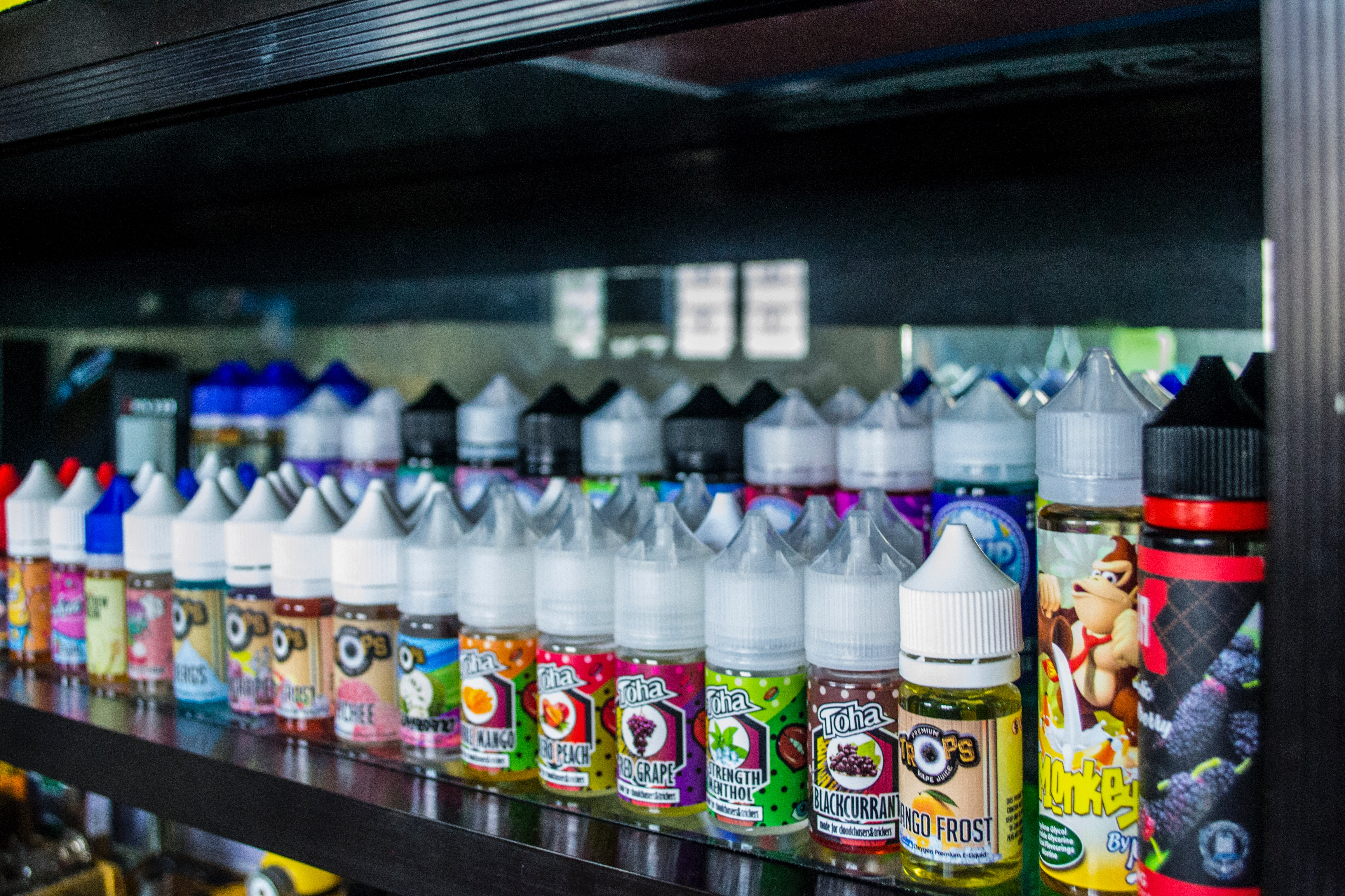 Fruit- and Candy-Flavored Vape Juice Are Most Popular Among Two Age