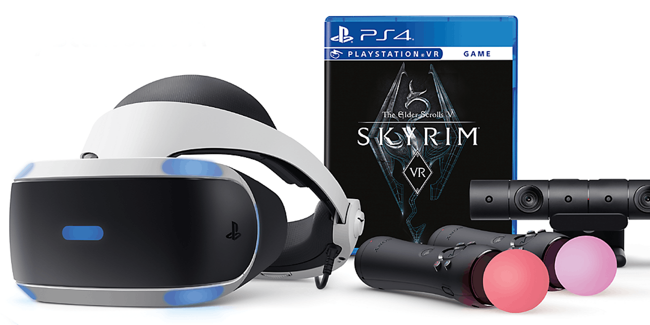 1c046d0f682 Sony PlayStation VR headset PSVR Skyrim bundle
