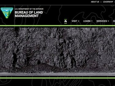 Interior Department Website Now Just Shows a Big Pile of Coal