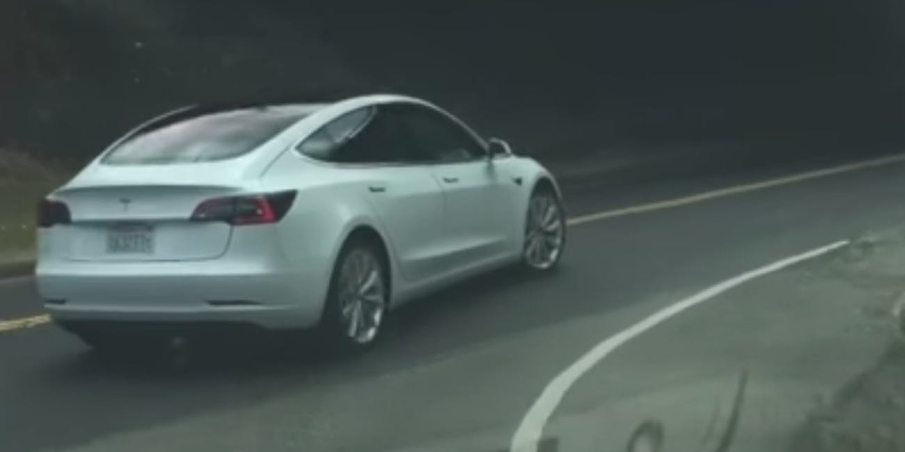 how fast is the tesla model 3