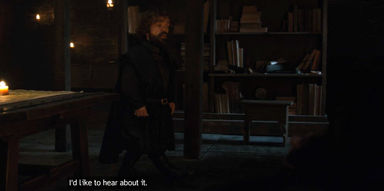"Peter Dinklage on 'Game of Thrones' episode ""A Knight of the Seven Kingdoms"""