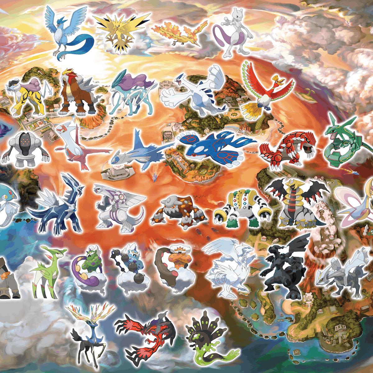 Pokémon Ultra Sun' and 'Moon' Will Let You Catch Every Legendary