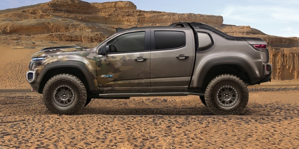 Chevy's Hydrogen-Fueled Army Truck Looks Straight Out of 'Halo'