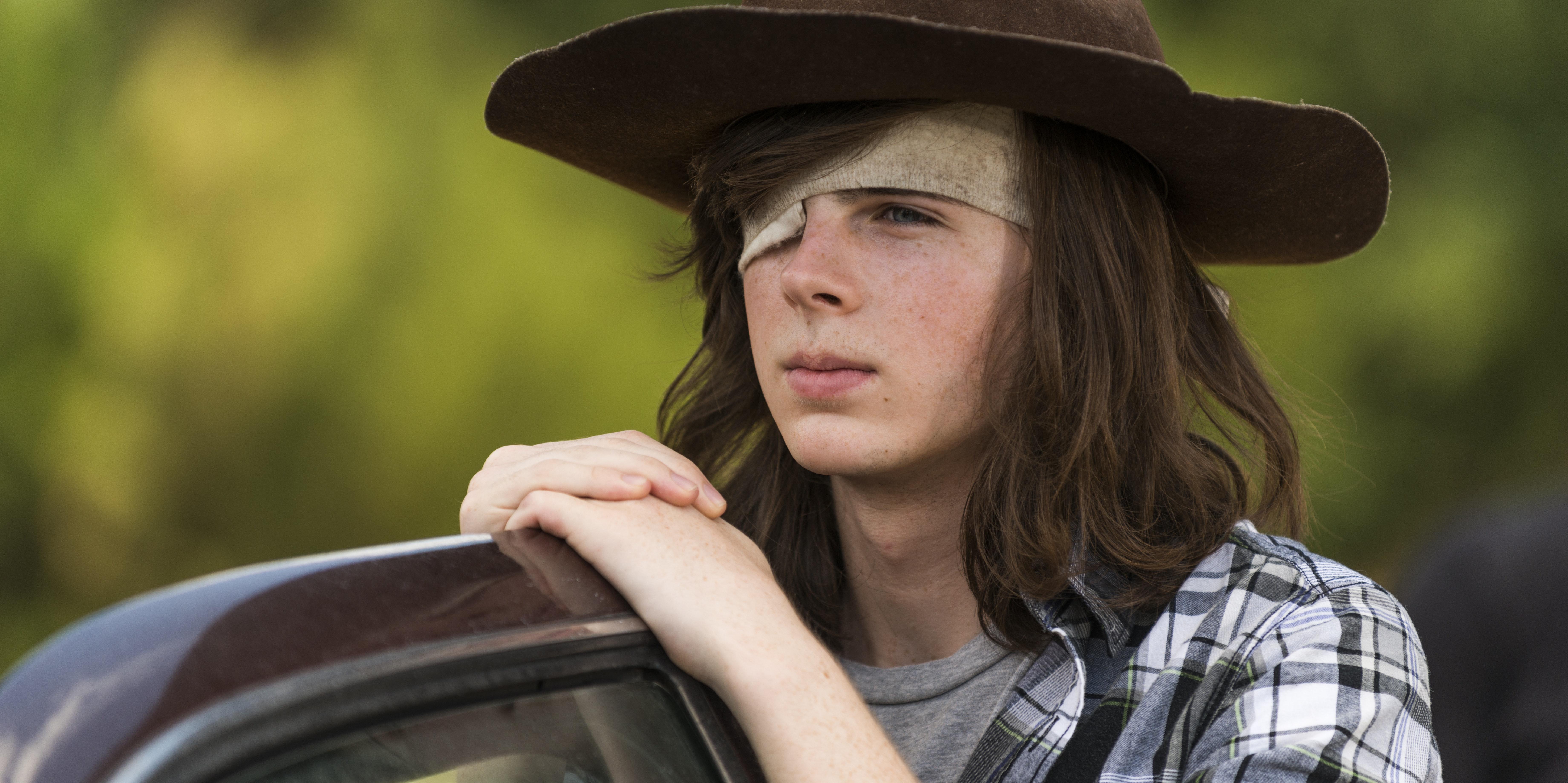 Walking Dead Carl Negan