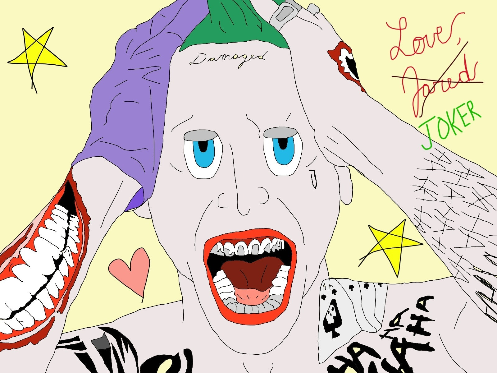 A Look into Jared Leto's Hypothetical Joker Acting Journal