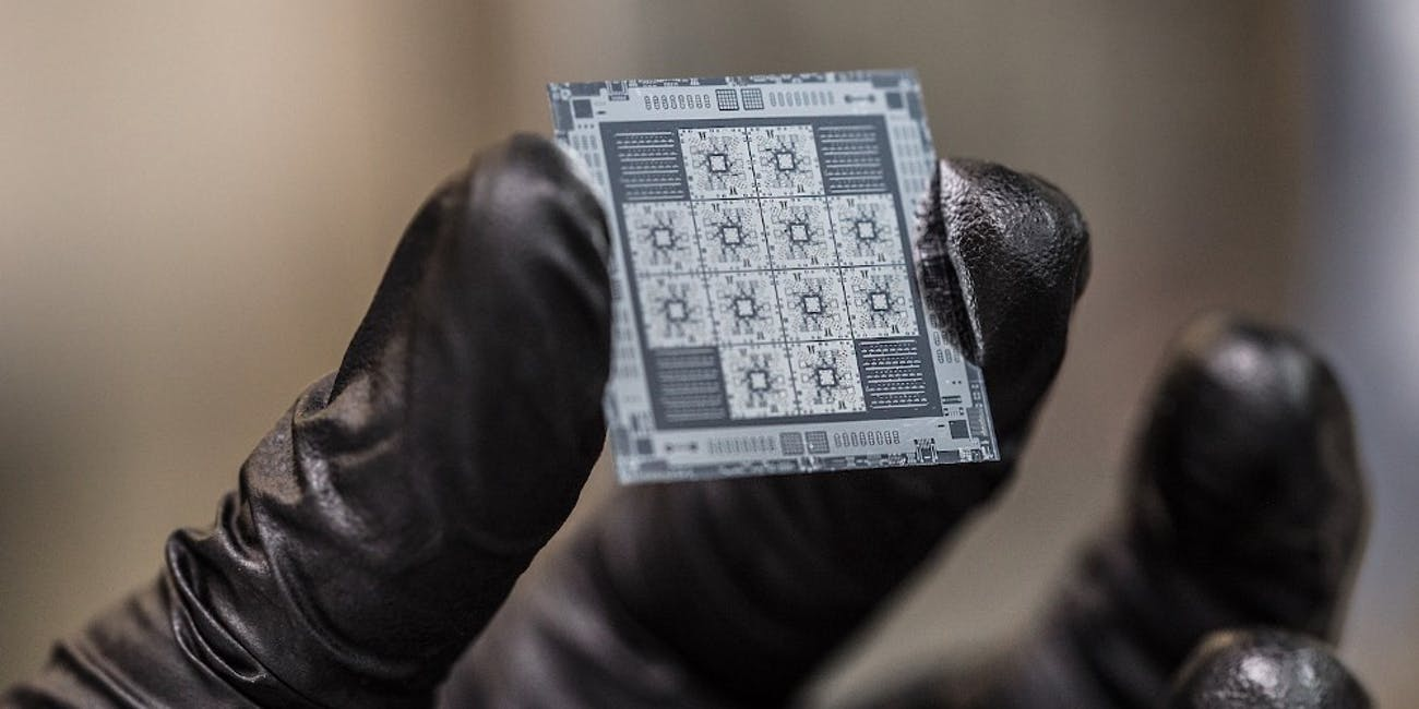 8-qubit quantum processors manufactured by Rigetti Computing.