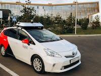 Yandex autonomous taxi
