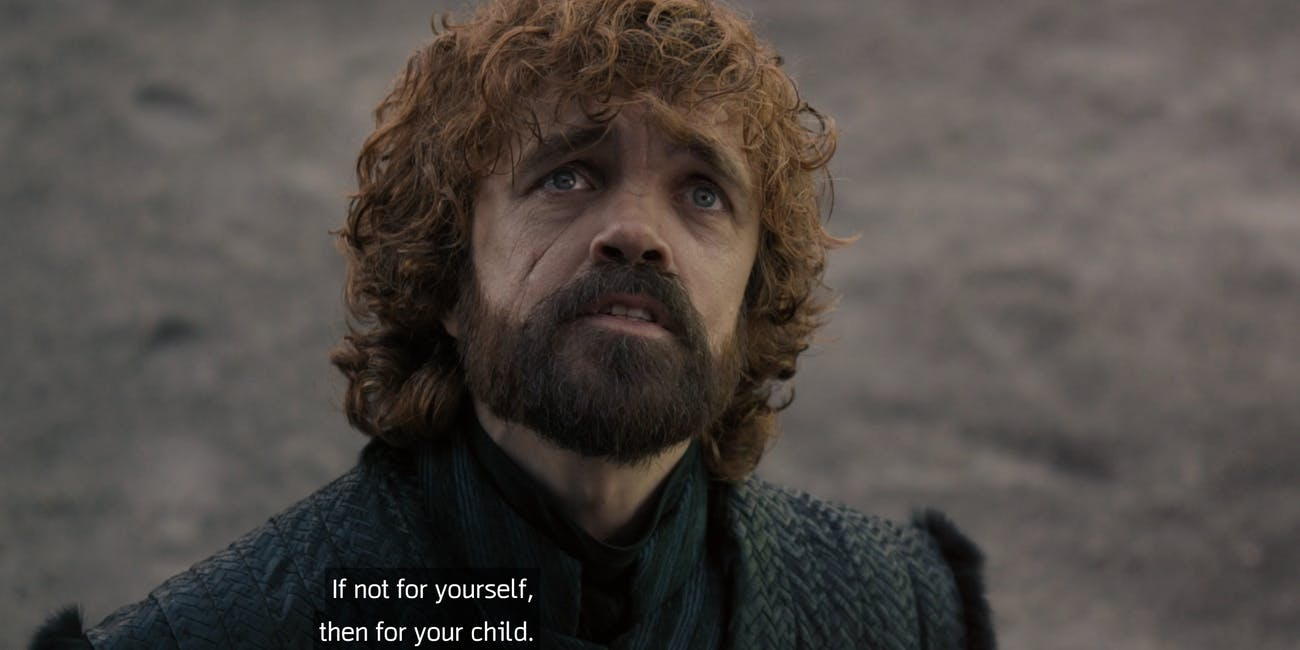 "Peter Dinklage on 'Game of Thrones' Episode 4 ""The Last of the Starks"""