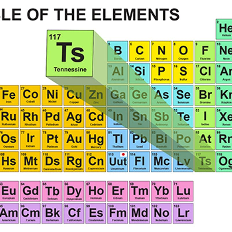 Tennessee Gets Its Own Element Tennessine Inverse
