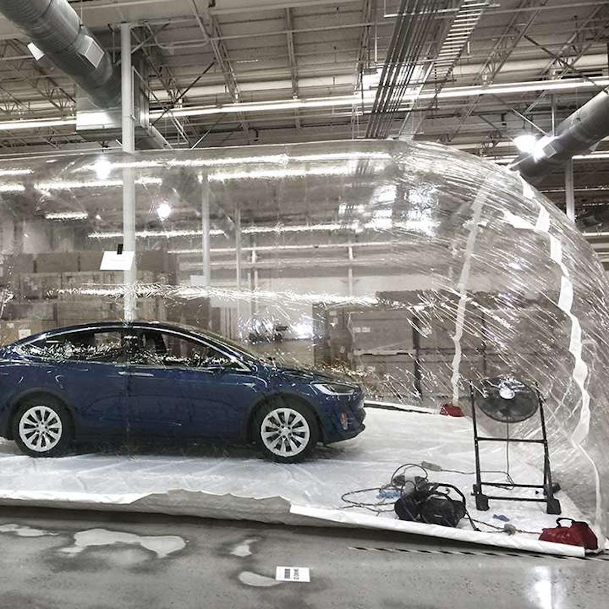 "How Tesla's ""Bioweapon Defense Mode"" Has Helped in California Wildfire"