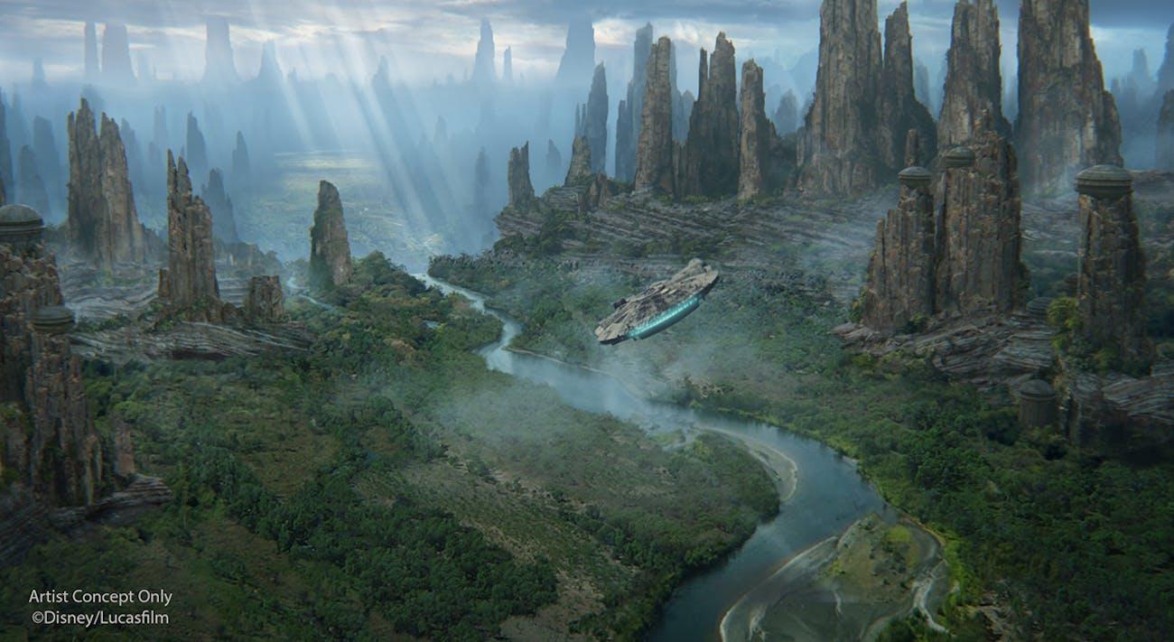 'Star Wars: Galaxy's Edge' Batuu