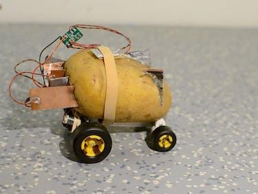 autonomous potato self driving tuber design