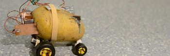 autonomous potato self driving tuber design