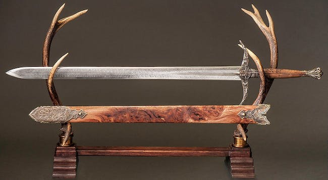 Heartsbane, the ancestral sword of House Tarly.