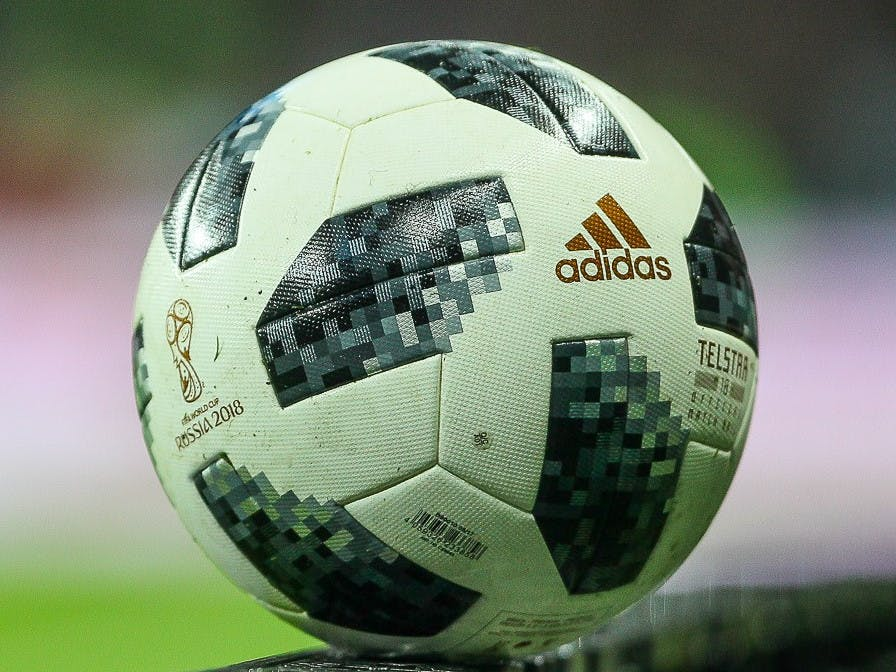The official World Cup 2018 ball by Adidas.