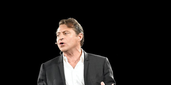 SAN FRANCISCO, CA - JULY 24:  Peter Diamandis speaks at Chivas Regal's The Venture Final Pitch  on July 24, 2015 in San Francisco, California.  (Photo by Michael Buckner/Getty Images for Pernod Ricard)