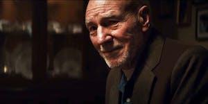 Patrick Stewart as Professor X in 'Logan'