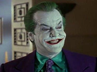 Jack Nicholson in 'Batman' (1989)