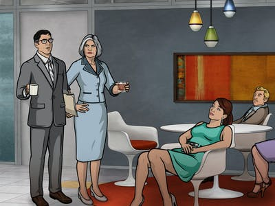 Mallory Takes Down a Biker Gang, Saves Sterling on 'Archer'