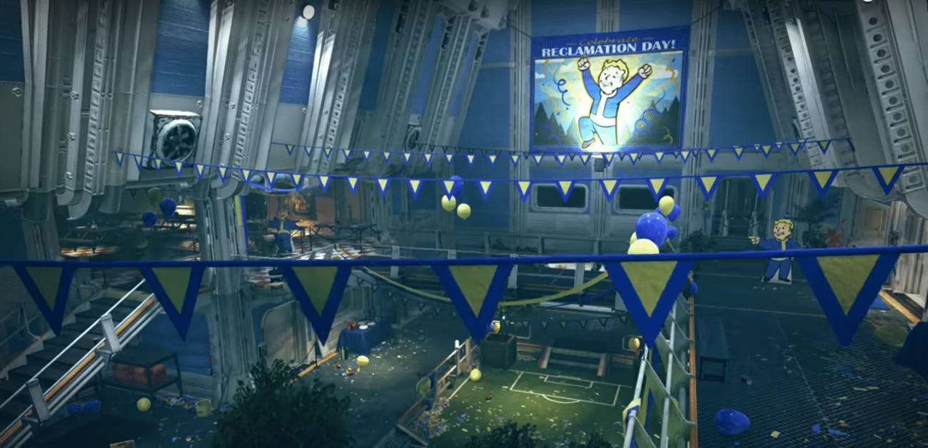 What happened to Vault 76 in 'Fallout 76'?