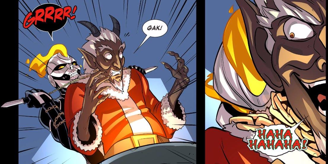 Ghost Rider Christmas Marvel