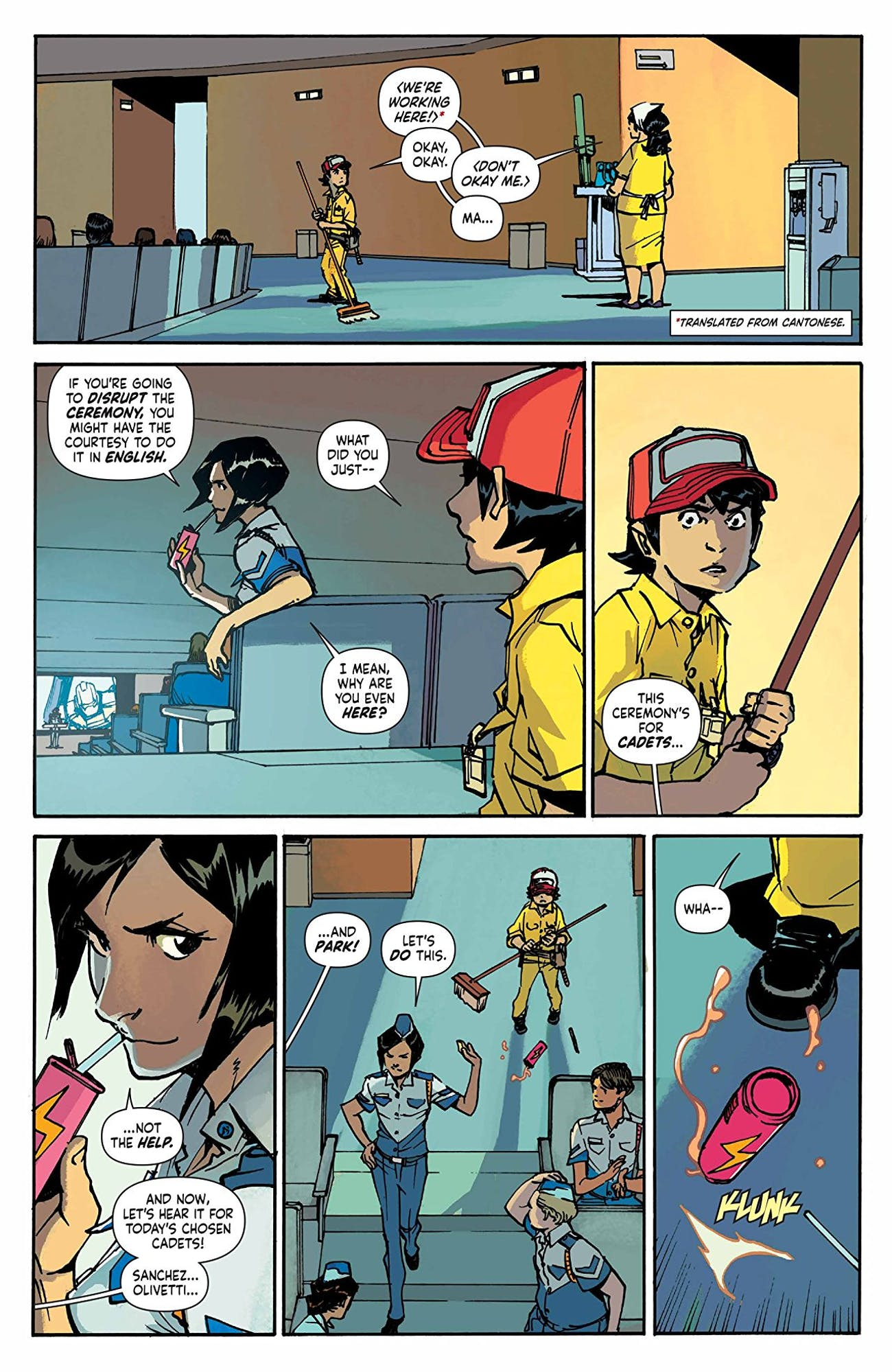 Mech Cadet Yu' Made Asian Immigrant Moms Into Comic Book Heroes