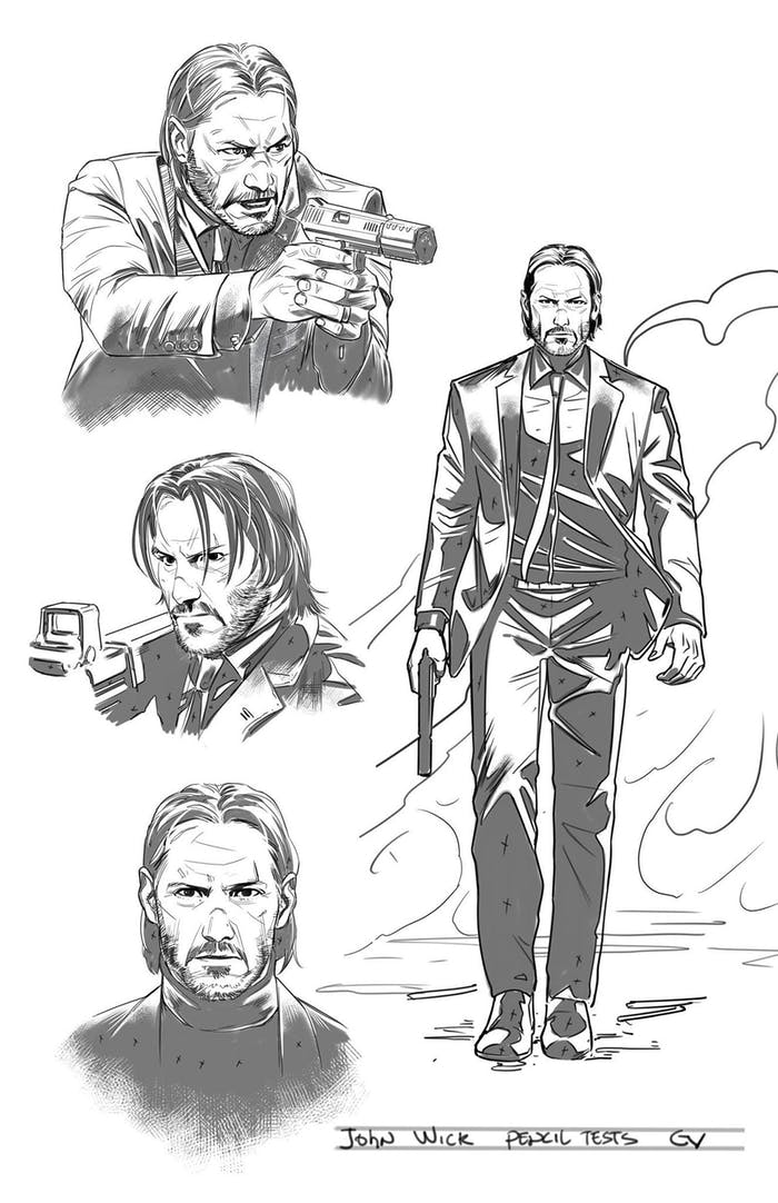 Giovanni Valletta John Wick Comic